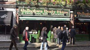 Irish restarurante
