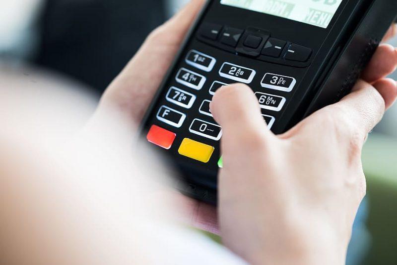 Comprando con tarjeta bancaria