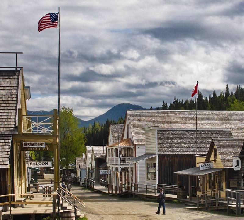 pueblo fantasma de Barkerville